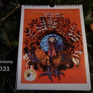 Jahreskalender 2021 von Ute Langenkamp