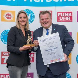 Tierschutzpreis 2018: Tierschutz-Engagement an der Schule – 1. Preis an Ann-Catrin Schmidt